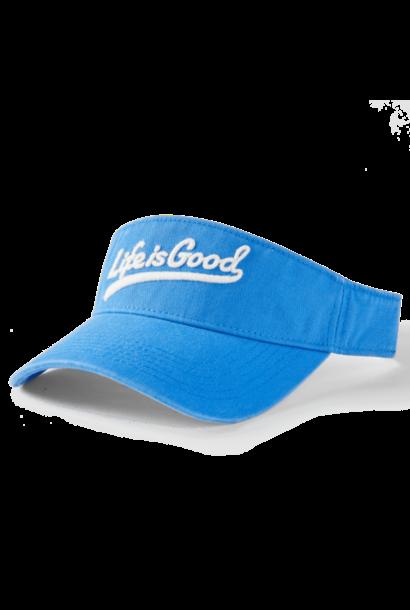 Ballyard Script Chill Cap Visor, Royal Blue