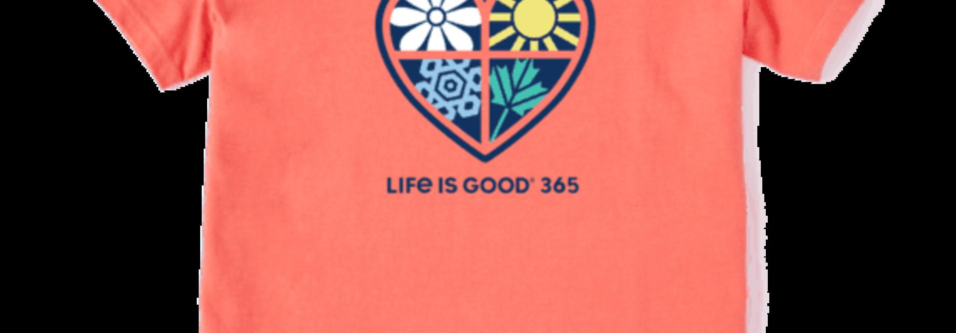 W's LIG 365 One Heart Crusher-LITE Vee, Mango Orange
