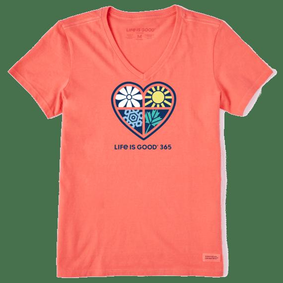 W's LIG 365 One Heart Crusher-LITE Vee, Mango Orange-1