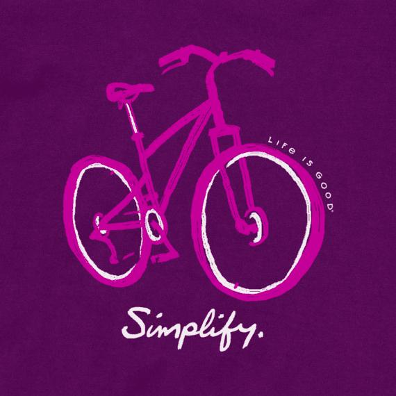 W's Simple Bike Sketch Crusher-LITE Vee, Purple Haze-2