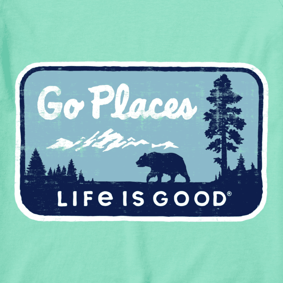 W's Go Places National Park Crusher-LITE Long Sleeve Crew, Spearmint Green-4