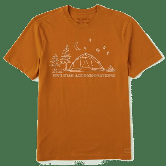 M Crusher Tee Five Star Camp, CFEBRN-1
