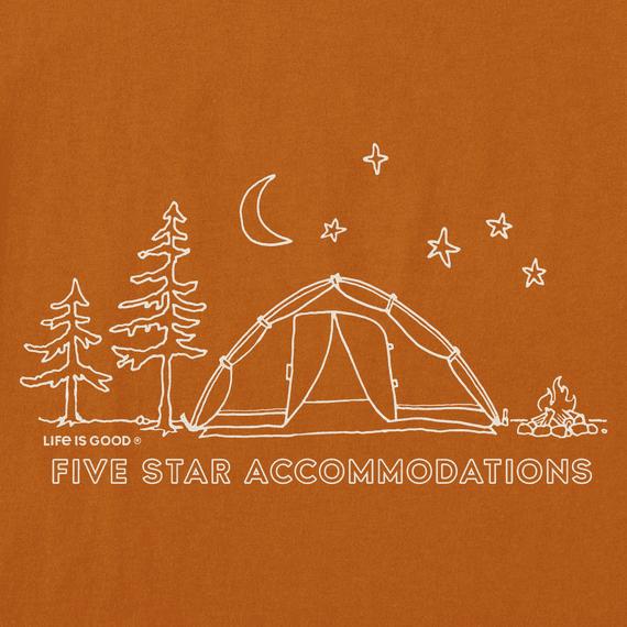 M Crusher Tee Five Star Camp, CFEBRN-2
