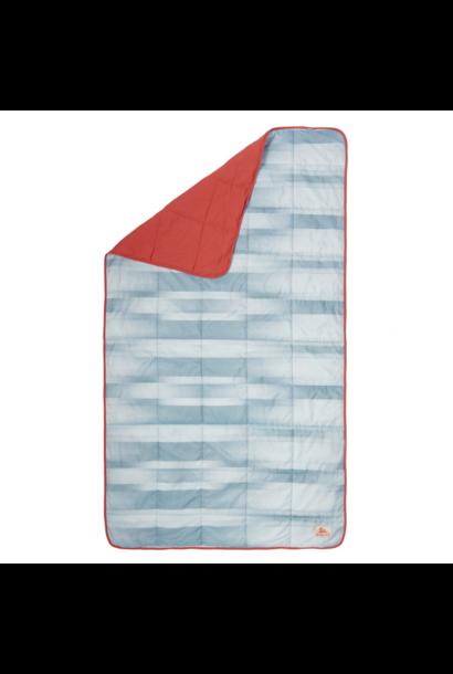 Bestie Blanket, Cranberry/Painted Ombre