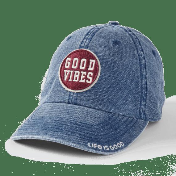 Good Vibes Coin Sunworn Chill Cap, Darkest Blue-1