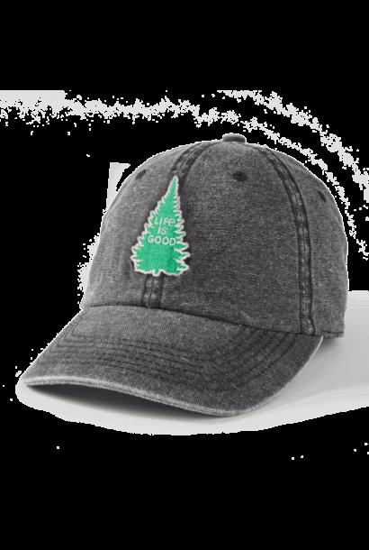 LIG Pine Sunworn Chill Cap, Jet Black