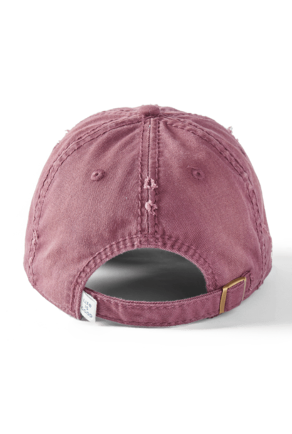 Dog Silhouette Sunwashed Chill Cap, Mahogany Brown