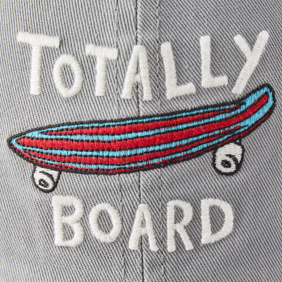 Kid's Totally Board Kids Chill Cap, Slate Gray-2