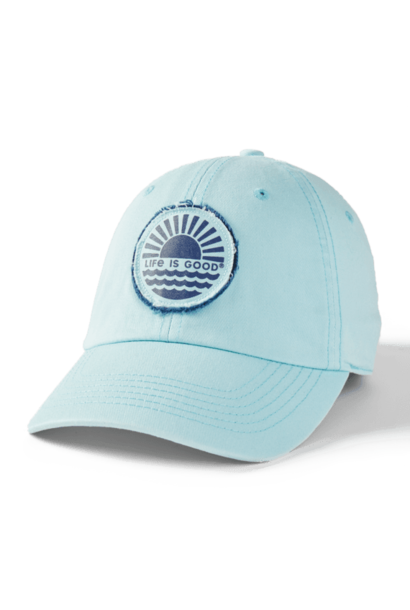 Sunset on the Water Tattered Chill Cap