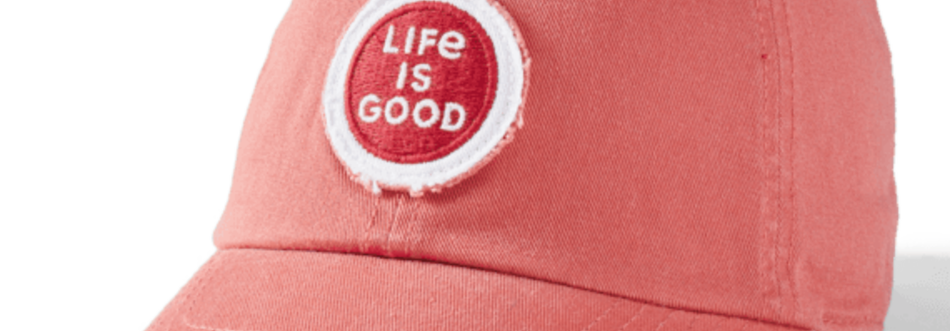 LIG Coin Tattered Chill Cap, Faded Red