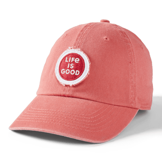 LIG Coin Tattered Chill Cap, Faded Red-1