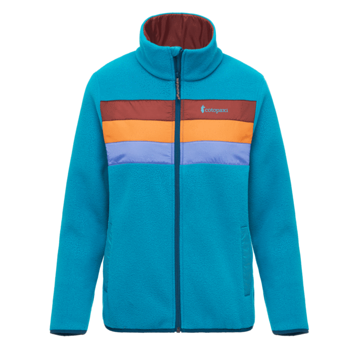 W's Teca Fleece Full-Zip Jacket, Ship Shape-1