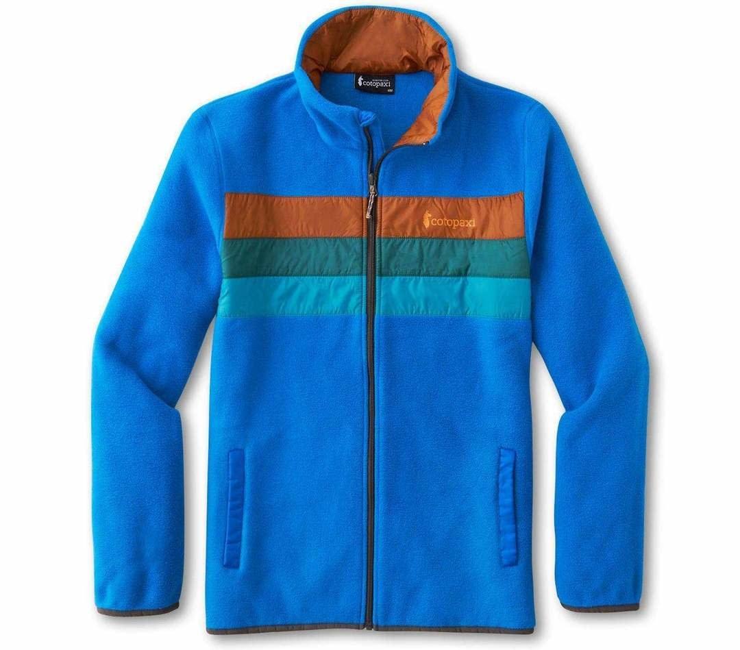 M's Teca Fleece Full-Zip Jacket, Splash-1