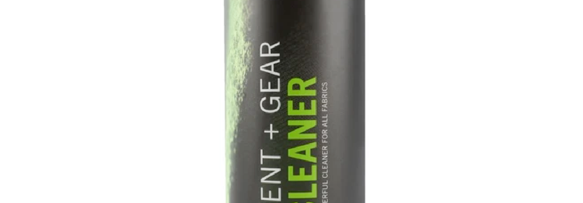 Tent and Gear Cleaner