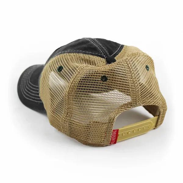 Stede Bonnet Flag Trucker Hat, Black-2