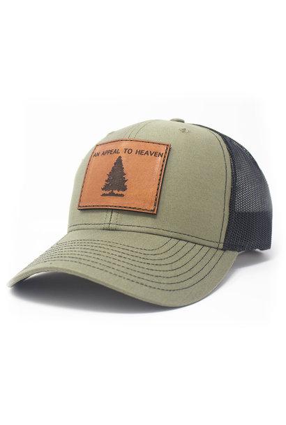 An Appeal To Heaven, Trucker Hat, Loden/Black