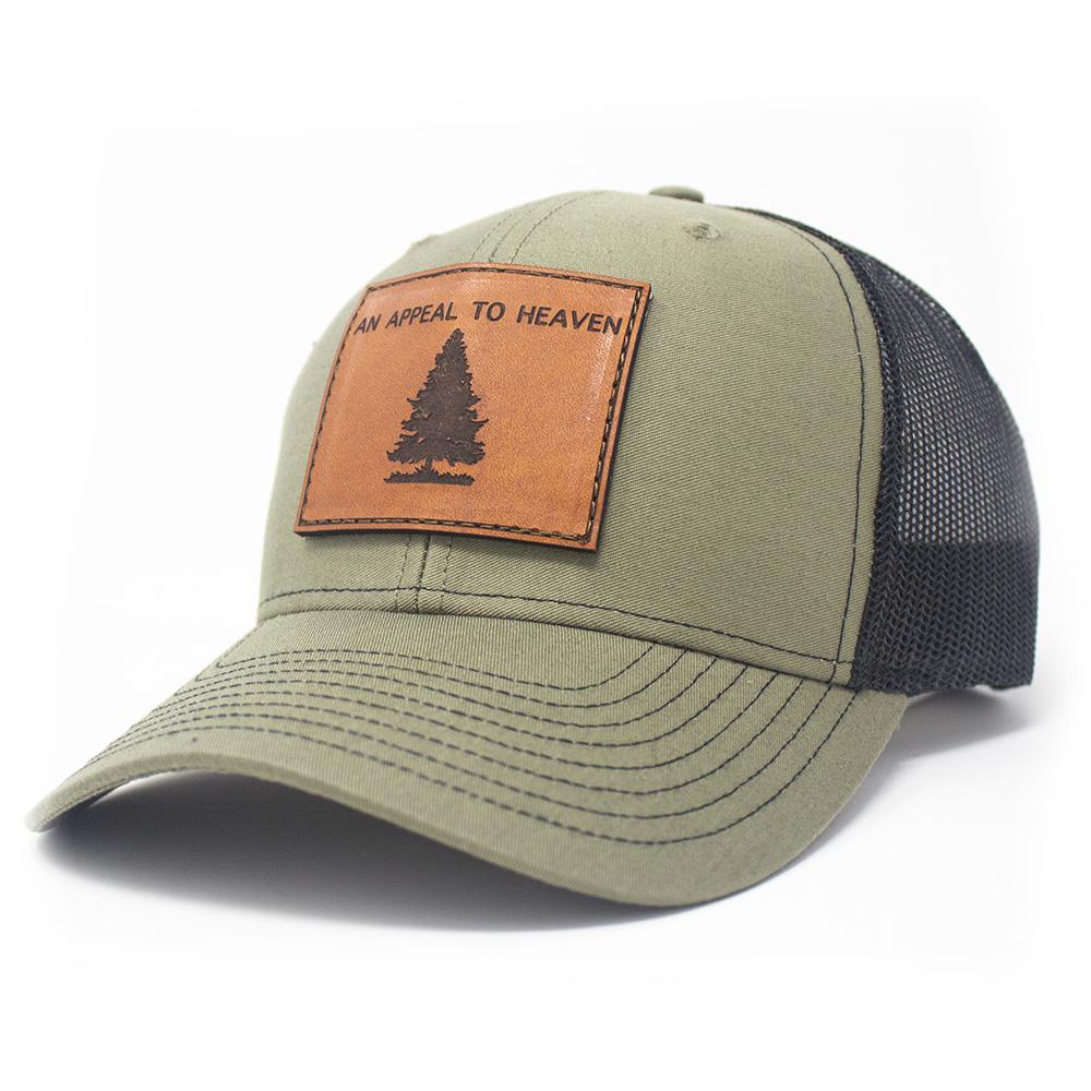 An Appeal To Heaven, Trucker Hat, Loden/Black-1