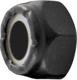 Eastern Skate Supply Blank Standard Lock Nut, Black (10-32)