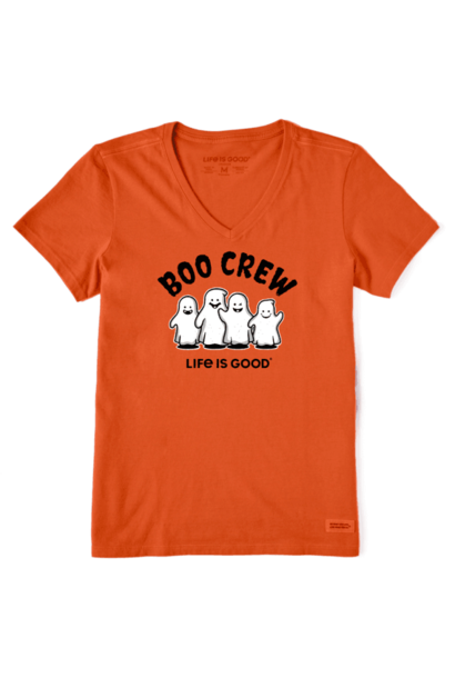 W's Boo Crew Crusher Vee, Nomadic Orange