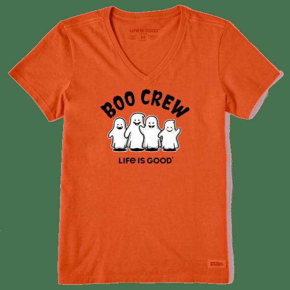 W's Boo Crew Crusher Vee, Nomadic Orange-1
