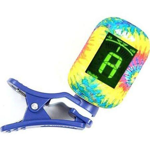 Kala Brand Kala Klipz Clip-On Tuner, Tie Dye