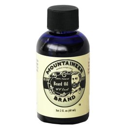 Mountaineer Brand Beard Oil 2oz, WV Coal