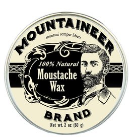 Mountaineer Brand Moustache Wax 2oz, Original