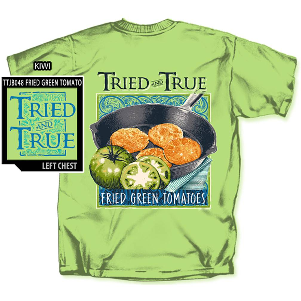 Fried Green Tomatoes T-shirt, Kiwi
