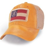 S.L. Revival Co. Georgia State Flag Trucker Hat, Gold