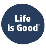 Life is Good Life Is Good Sticker, Darkest Blue