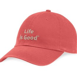 Life is Good LIG Branded Chill Cap, Nautical Red
