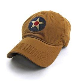 S.L. Revival Co. U.S. Army Air Corps Insignia Ballcap, Khaki