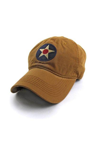 U.S. Army Air Corps Insignia Ballcap, Khaki
