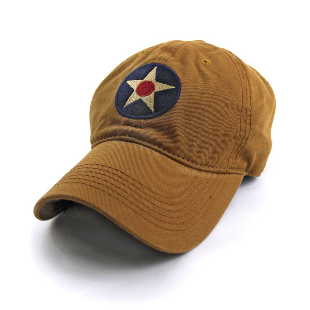 S.L. Revival Co. U.S. Army Air Corps Insignia Ballcap, Khaki