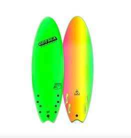 "Catch Surf Odysea Skipper Quad 6'0"", Neon Green"