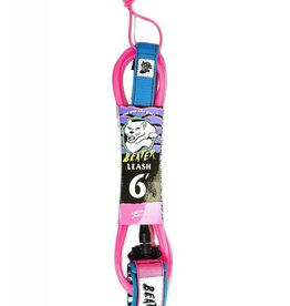 Catch Surf Beater 6' Leash, Pink/Blue