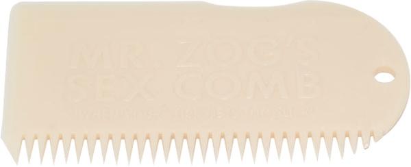 Eastern Skate Supply Sex Wax Wax Comb, Bone White