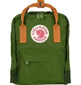 FjallRaven Kanken Mini Backpack,  Leaf Green Burr