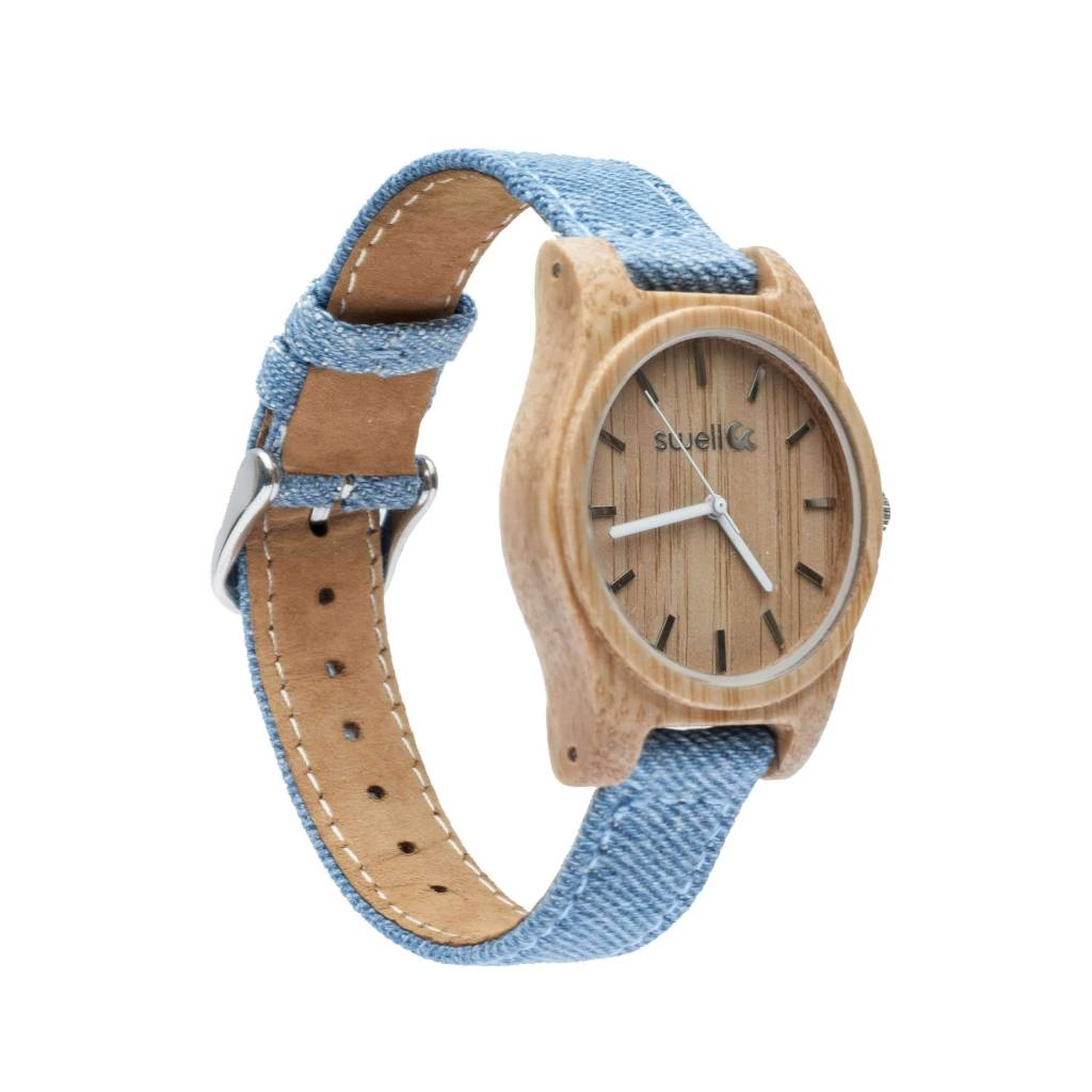 Swell Vision The Niagra Bamboo Watch