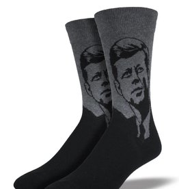 Socksmith M's JFK Socks, Grey