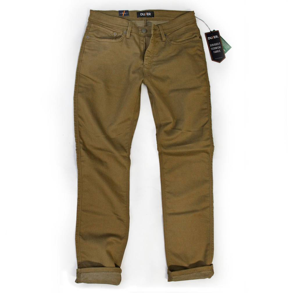 Dish and Duer Men's No Sweat Pant Relaxed, Tobacco