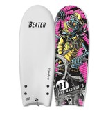 Catch Surf Beater Original 54 Twin Fin, Mad Huey Edition White