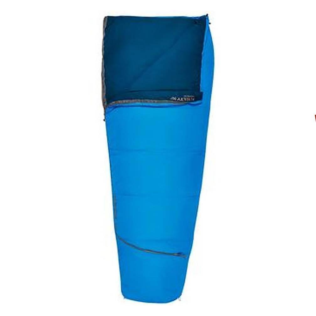 Kelty Rambler Sleeping Bag 50 Degree Reg RH, Paradise Blue