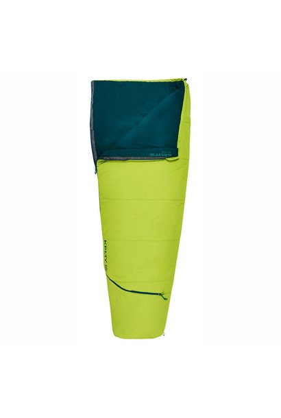 Rambler Sleeping Bag 50 Degree Reg RH, Green Apple