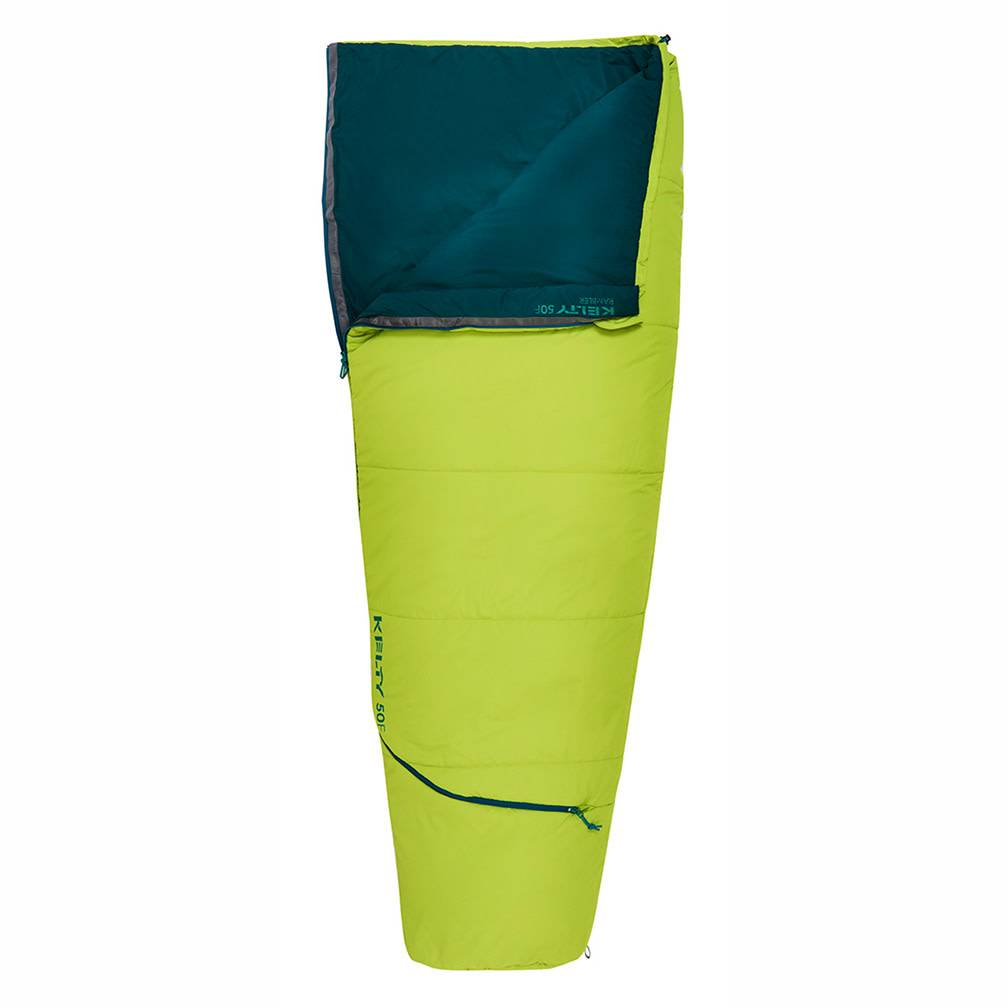 Kelty Rambler Sleeping Bag 50 Degree Reg RH, Green Apple