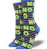 Socksmith W's No, Blue