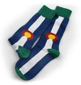 S.L. Revival Co. Colorado State Flag Sock, Large