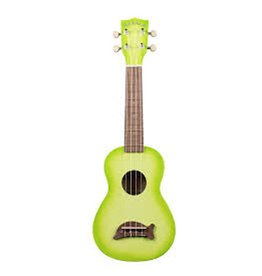 Kala Brand Green Apple Burst Dolphin Ukulele