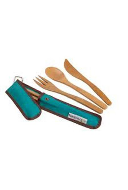 To Go Ware, Utensil Set, Teal