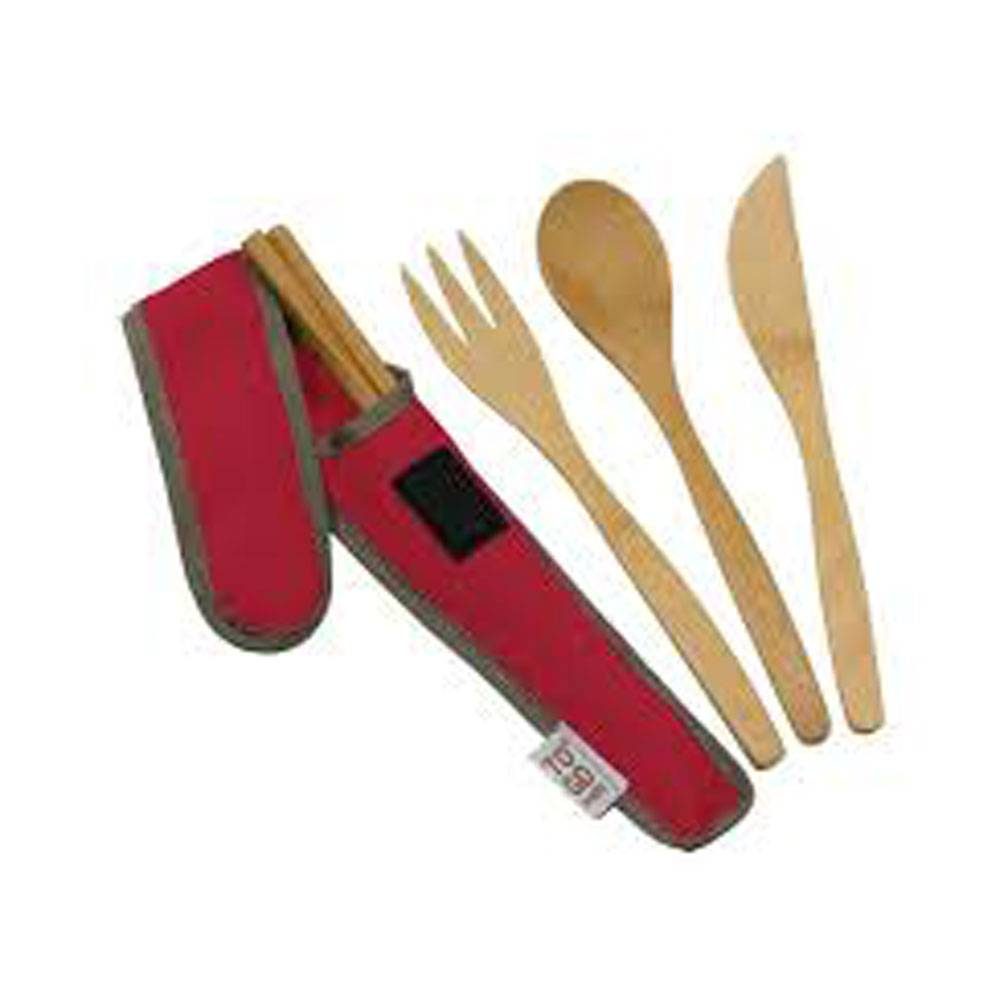 To Go Ware Utensil Set, Red-1